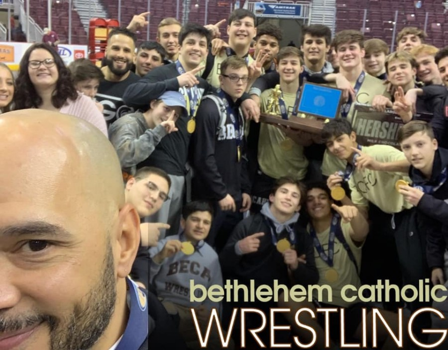 Sweet victory for Bethlehem Catholic Wrestling in Hershey Error adding symbol table to error log num 7718! MySQL Error: Data too long for column 'symbol_table' at row 1<br> <br>  Notice: Undefined variable: adtop in /home/becahihsp/public_html/designs/news/detail.php on line 382
