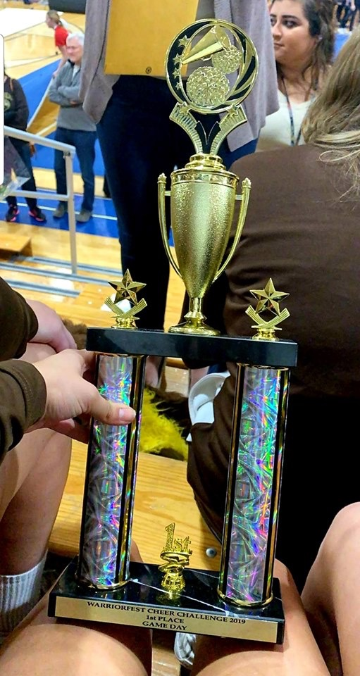 Becahi Cheerleaders Win Multiple Awards at Competition Bethlehem Catholic High School