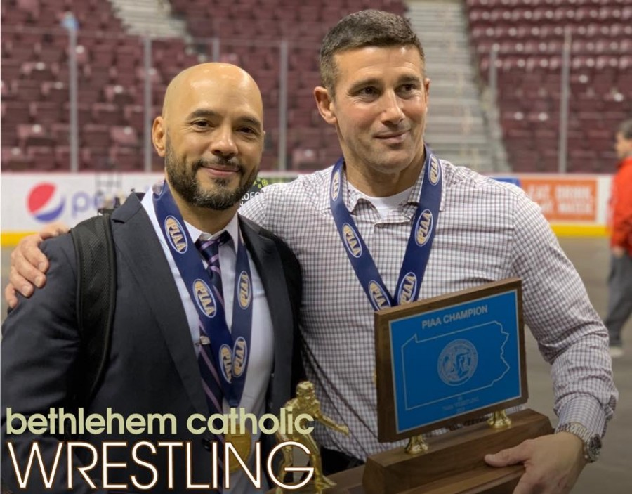Sweet victory for Bethlehem Catholic Wrestling in Hershey Bethlehem Catholic High School