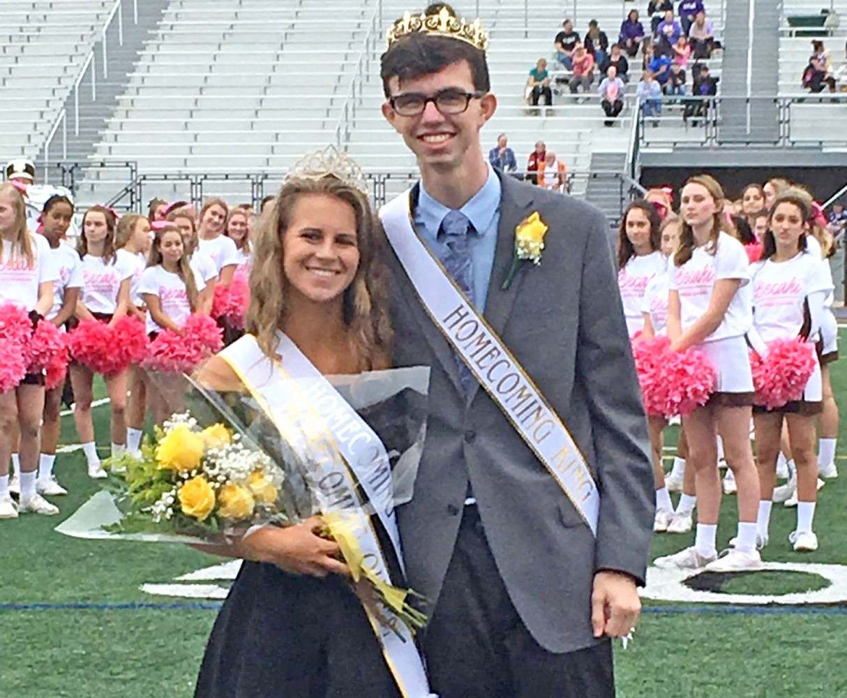 Homecoming King and Queen Bethlehem Catholic High School