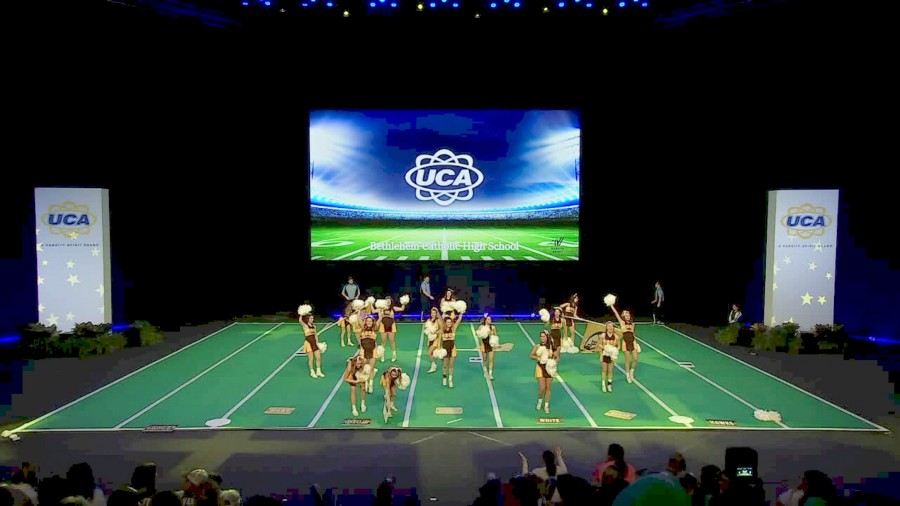 BECAHI Cheer reach semifinals at NHSCC Bethlehem Catholic High School