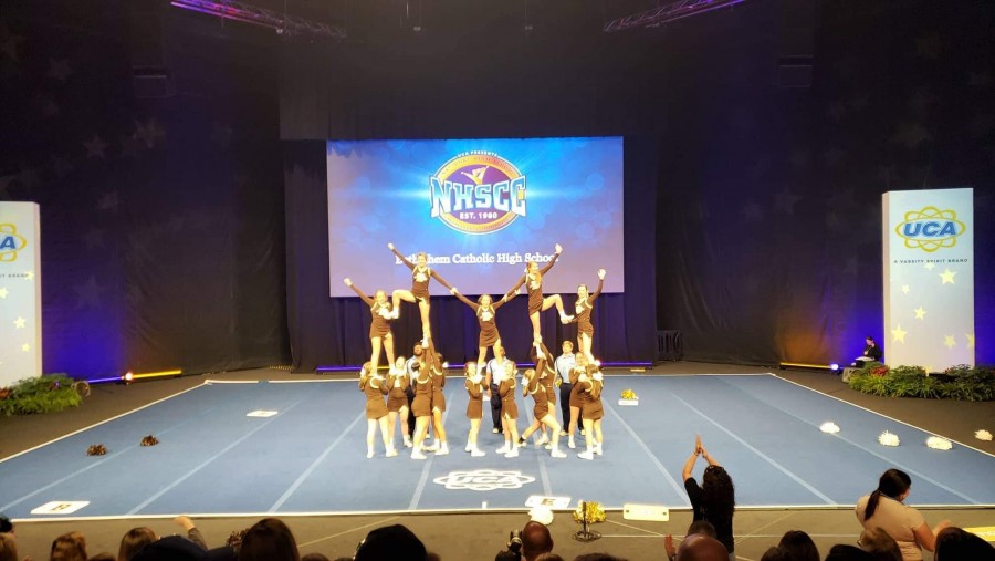 BECAHI competes at National High School Cheerleading Championships in Orlando Bethlehem Catholic High School