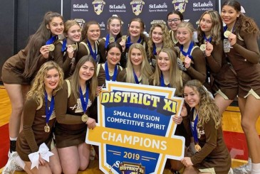 Becahi Cheerleaders Win District XI Cheerleading Championship Bethlehem Catholic High School