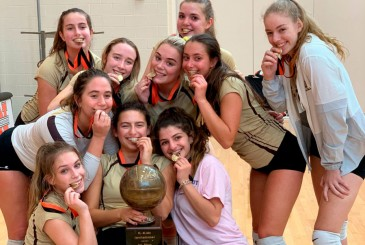 Girls Varsity Volleyball Team Wins First Place in Konkrete Kids Invitational Bethlehem Catholic High School