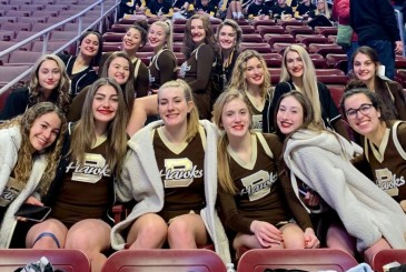 Cheerleaders Make State Finals! Bethlehem Catholic High School