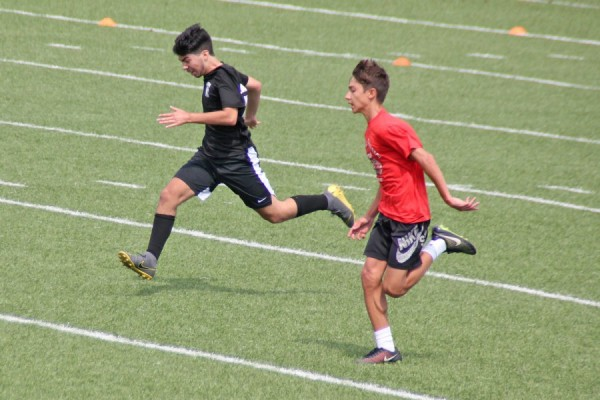 Soccer training continues for upcoming Sunday games Bethlehem Catholic High School