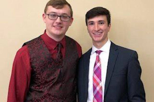 Stand Up for Life Essay Finalists~Keith Neidig '20 and Gabriel Velez '20